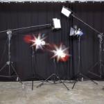 Lichtanlage im cubus.tv Mietstudio